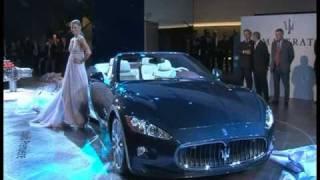New Maserati GranCabrio Unveils At 2009 Frankfurt Motor Show