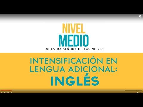 Lengua Adicional: Inglés
