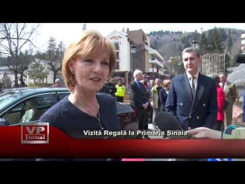 Vizita Regală la Primăria Sinaia