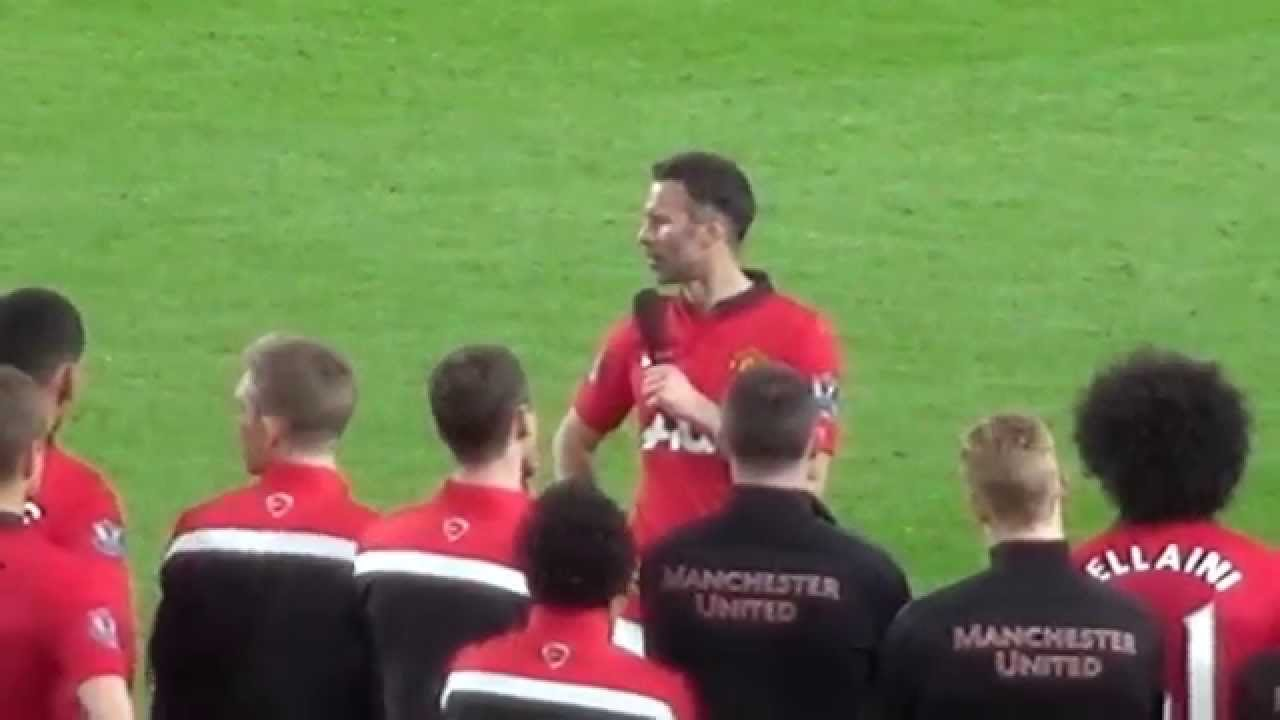 Ryan Giggs – The Final Speech – His last appearance? United 3 – Hull City 1 06.05.14