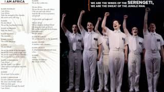 Book of Mormon - I Am Africa - Lyrics