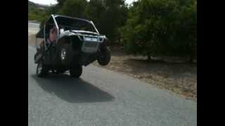 6. 2007 Polaris Ranger Wheelie