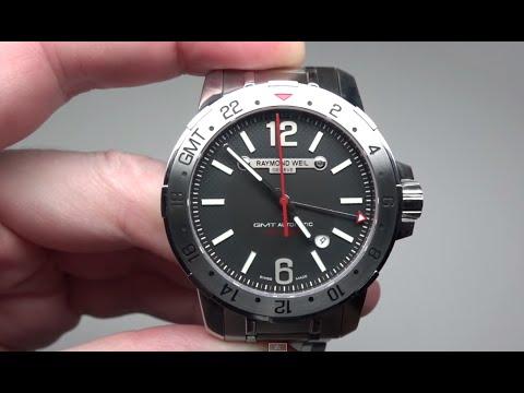 Raymond Weil Nabucco GMT Men's Watch Model: 3800-ST-05207