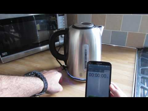 Russell Hobbs Buckingham Quiet Boil Steel Kettle 20460