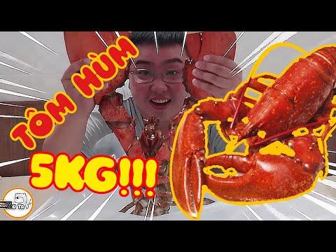 Gấu Ơi Ăn Gì!! Lobster Canada -Tôm Hùm Khổng Lồ ! Ăn Mừng Việt Nam Và Chúc Mừng Giáng Sinh - Thời lượng: 11 phút.