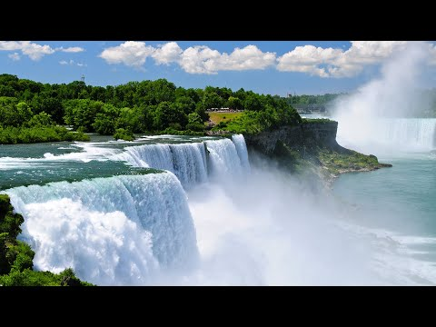 Download Niagara Falls American Side Tour and Maid of the Mist Boat Ride HD Mp4 3GP Video and MP3