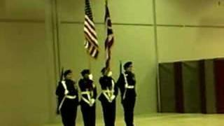 Army JROTC Colorguard