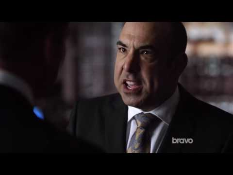 One of the best scenes in Suits - Louis confronts Harvey