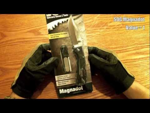 Gear Review - SOG Magnadot Folding Knife