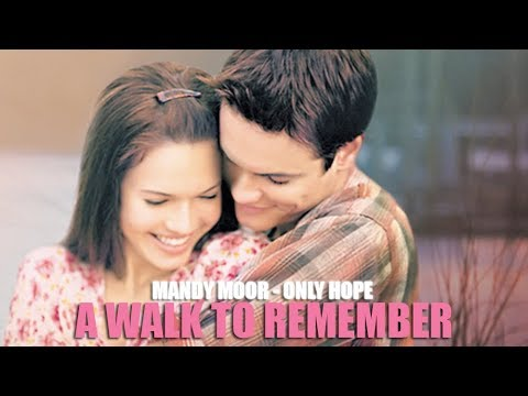 Mandy Moore - Only Hope (Lyric video) • A Walk to Remember Soundtrack •