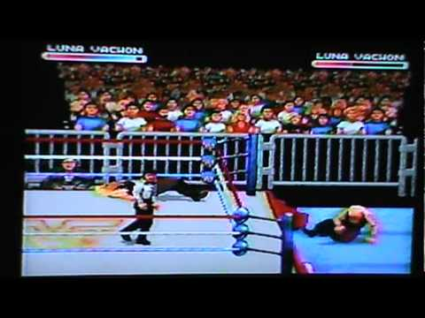 WWF Raw Sega Genesis Luna Vachon vs. Luna Vachon