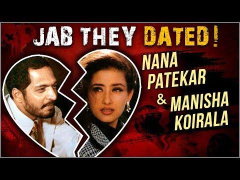 Nana Patekar Manisha Koirala - A Controversial Lov