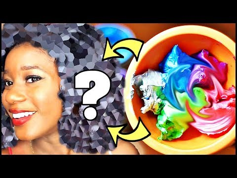 Hair color - MYSTERY COLOR **NOT Black/Brown!!** on HEAT-LESS CURLS