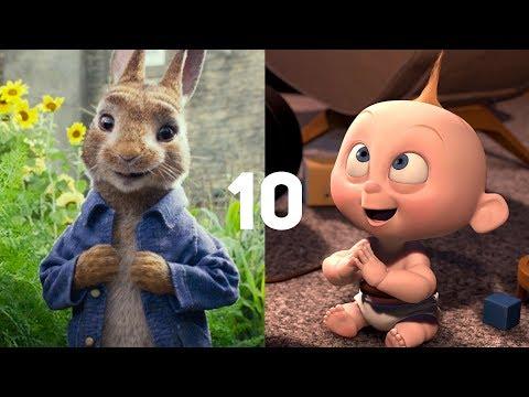 10 самых ожидаемых мультфильмов 2018