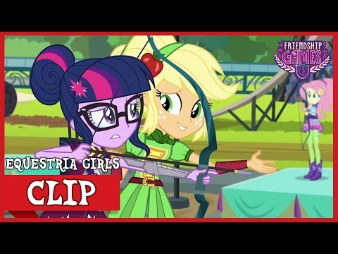 The Tri-Cross Relay: Applejack's Honesty | MLP: Equestria Girls | Friendship Games! [HD]