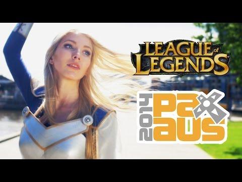 PAX Aus 2014 League Of Legends Cosplay Highlights