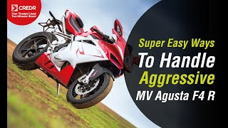 7. The Mighty MV Agusta F4 R: Aggressive yet Artistic