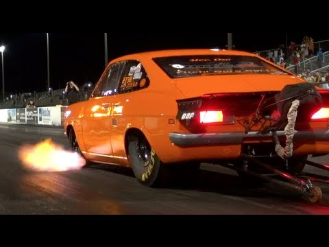 Worlds Fastest Datsun 4 Cylinder Nissan SR20 Powered -NDIMA- (NEW WORLD RECORD)