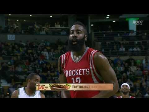 James Harden's four-point play over Marcus Smart
