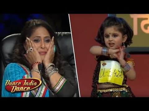 Mahi Heart Winning Performance - DID L'il Masters Season 3 - Jaw Dropping Delhi Audition
