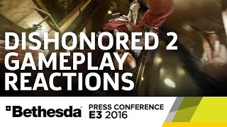 Dishonored 2 Gameplay Reactions - E3 2016 GameSpot Post Show by GameSpot