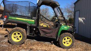 6. John Deere Gator 855D 50 hour maintenance