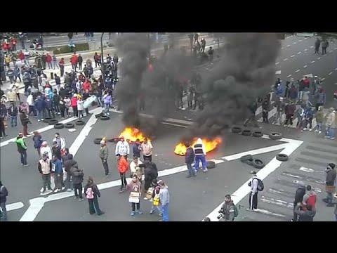 Αργεντινή: Bίαιες διαδηλώσεις στο Μπουένος Άιρες