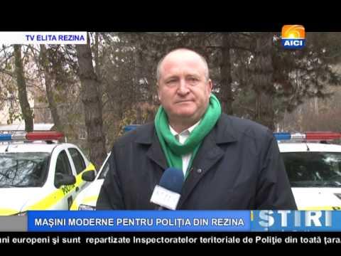 AICI TV MAȘINI MODERNE PENTRU POLIȚIA DIN REZINA
