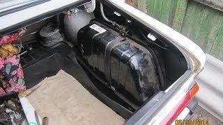 Бензобак ВАЗ 2106 снятие ремонт и установка