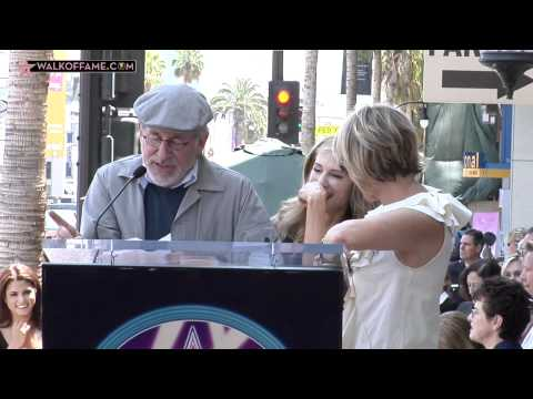 Holly Hunter Walk of Fame Ceremony