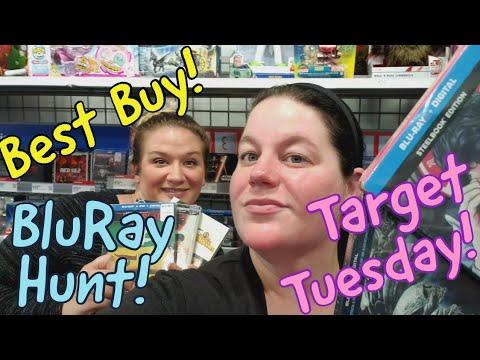 #TargetTuesday #bluraytrip  STEELBOOK HEAVEN at Best Buy! | Birthday Blu-ray Hunting!