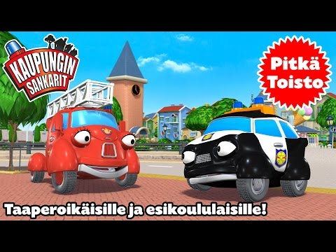 """Kaupungin sankarit – Non-Stop! Long Play """"Nippu 01"""" – 4 jaksoa peräkkäin"""
