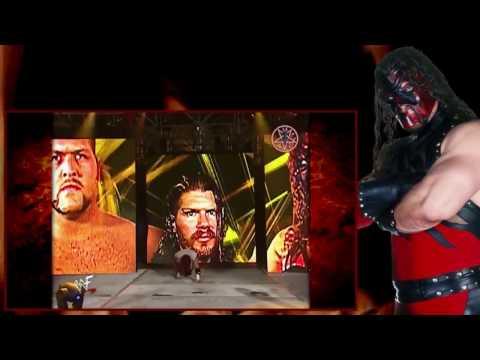 Kane vs The Big Show vs Raven 2001 (Hardcore) ( English version )
