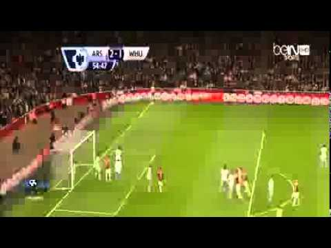 Arsenal Vs West Ham' 3 1 ~ All Goals & Highlights ~ 15 04 2014
