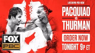 Manny Pacquiao vs. Keith Thurman | EXCLUSIVE PRELIM BOUTS | PBC ON FOX