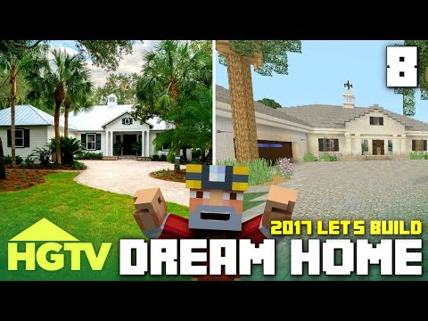 Minecraft Xbox One: Let's Build The HGTV Dream Home 2017! (Part 8)