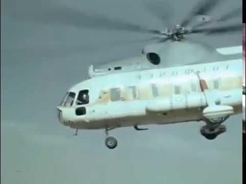 Soviet combat helicopters  Mi-8,...
