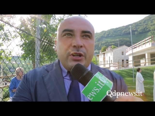 Valdobbiadene -  Inaugurati campetto e parco giochi parrocchiali a Santo Stefano