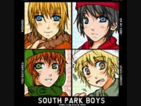 South Park Anime Kenny X Kyle Anime south park