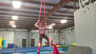 Aerial - New drop learned on silks.