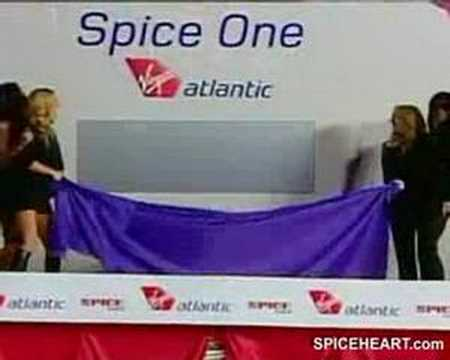 Spice Girls In The New Spice One Plane
