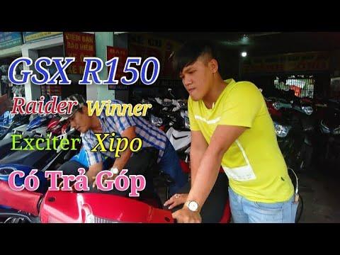 Tiệm xe cũ có Raider - GSX - Stinger - xipo cùng tất cả các loại xe khác-xe mayThành Công Ngố Nguyễn - Thời lượng: 14 phút.
