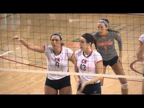 Carson-Newman Volleyball: Highlights vs. Lenoir-Rhyne 12-6-15