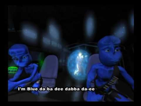 Eiffel 65 - Blue (Da Ba Dee) [Gabry Ponte Ice Pop Mix] (Original Video With Subtitles)