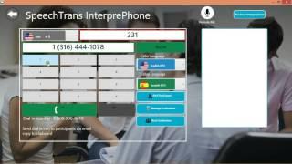 SpeechTrans InterprePhone Demo Windows Desktop
