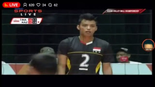 live asia volleyball cup 2017 indonesia vs kazakhstan
