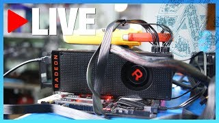 This is our third live stream! We are streaming the undervolting and overclocking processes for RX Vega 56. Our brand new shirt...