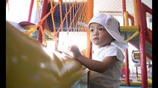 Video Vlog #10 - Bayi Kembar 5 (AIUEO) & kk Shakira  bermain di area Gramedia Cirebon MP3, 3GP, MP4, WEBM, AVI, FLV Februari 2018