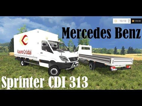 MB Sprinter CDI313 Pritsche v1.0