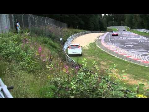 Fiat Grande Punto CRASH accident Unfall Nordschleife Nurburgring 07.08.11.mpg